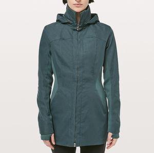 Lululemon Jacket Like A Glove in Teal Green